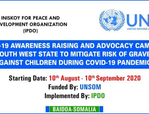 Covid19 Awarenss Raising in Baidoa